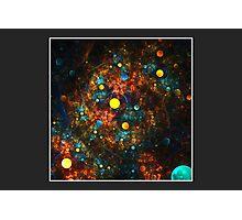 """Celestial Gumballs"" (6x4 card version) Photographic Print"