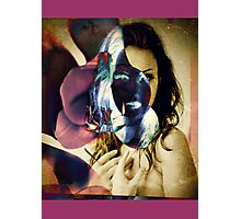 6540bor Orchid Goddess Photographic Print
