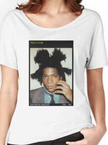 BASQUIAT-THE 27 CLUB Women's Relaxed Fit T-Shirt