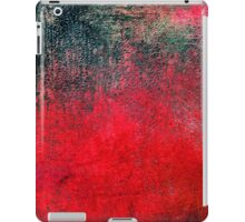 Abstract Lovely Red Black iPad Case Cool New Grunge Texture iPad Case/Skin