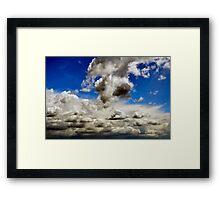 Falkor Framed Print