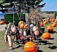 Harvest Horses by Martha Sherman