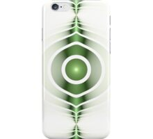 Surface Waves - Green iPhone Case/Skin
