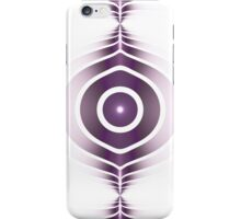 Surface Waves - Purple iPhone Case/Skin