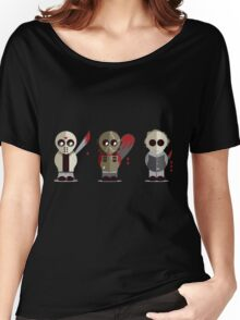 Three Amigos of Horror Women's Relaxed Fit T-Shirt