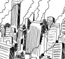 New York Skyscrapers 1955 Sticker