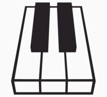 Perspective Piano Keys Design by Style-O-Mat