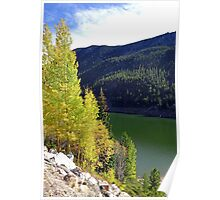 Green Lake on Guanella Pass Road  Poster