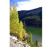 Green Lake on Guanella Pass Road  Photographic Print