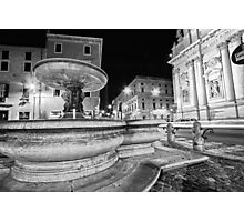 Rome At Night Photographic Print