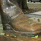 Juneteenth Presidential boot by AuntieBarbie