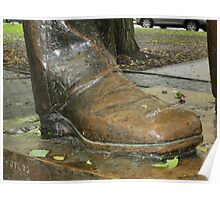 Juneteenth Presidential boot Poster
