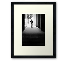 Mosey On Down Framed Print