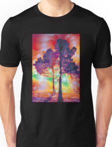 Lights And Tree Tether Facelift Unisex T-Shirt