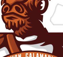 Mon Calimari Admirals Sticker