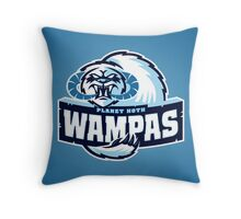 Planet Hoth Wampas Throw Pillow
