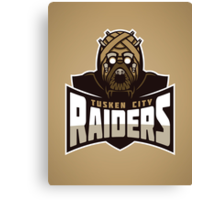 Tusken City Raiders Canvas Print