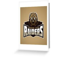 Tusken City Raiders Greeting Card