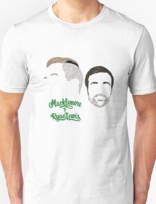 Macklemore & Ryan Lewis - Minimalistic Print Unisex T-Shirt