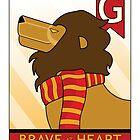 Gryffindor Lion by makoshark
