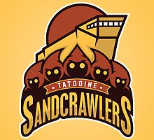 Tatooine SandCrawlers by WanderingBert