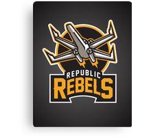 Republic Rebels Canvas Print