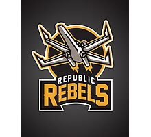 Republic Rebels Photographic Print