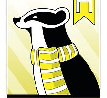 Hufflepuff Badger by makoshark