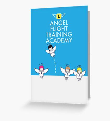 Angel Flight Training Greeting Card