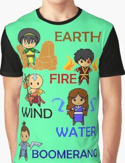 Captain Element Graphic T-Shirt
