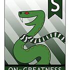 Slytherin Snake by makoshark