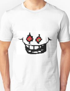 Undertale omega Flowey creepy face T-Shirt