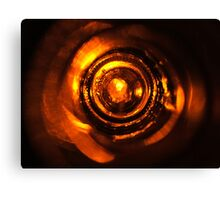 From the Bottom of the Bottle - Copper I Canvas Print