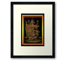 ©DA Cross of Thor Fractal IIIA Framed Print