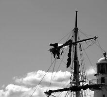 Man on the mast by Matt McLarty