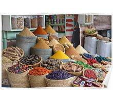 Marrakech The Colour of Spice Poster