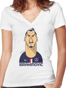 Zlatan Women's Fitted V-Neck T-Shirt