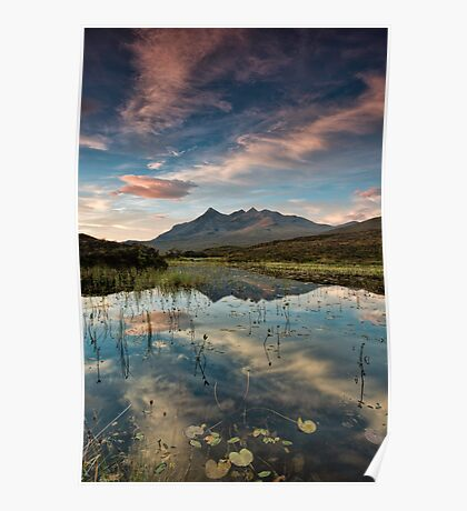 Sunrise over the Cuillins Poster