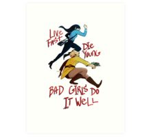 Bad Girls Art Print