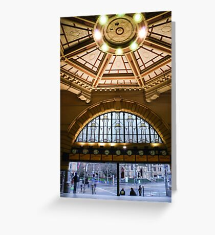 Meet Me at Flinders Street Greeting Card