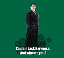Captain Jack Harkness : Who are you ? T-Shirt