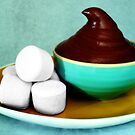 Chocolate Mousse with Marshmallows by David Mellor