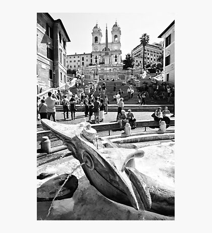 The Spanish Steps Photographic Print