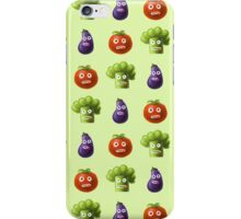 Funny Cartoon Vegetables iPhone Case/Skin
