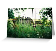 Alenka's Garden Greeting Card