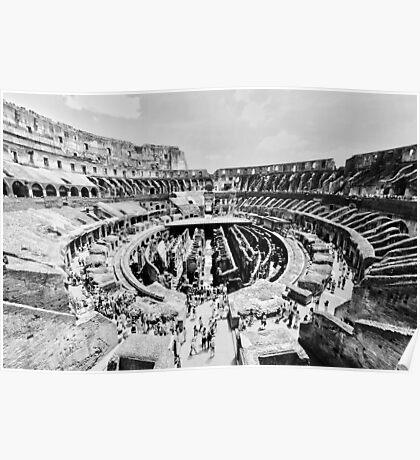 Gladiators Colosseum Poster