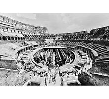 Gladiators Colosseum Photographic Print