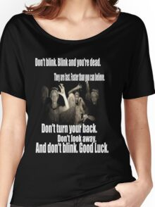 Doctor Who and the weeping angels Women's Relaxed Fit T-Shirt