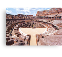 Entry To The Colosseum Canvas Print