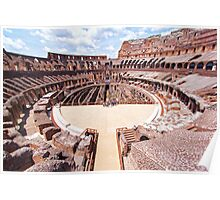 Entry To The Colosseum Poster